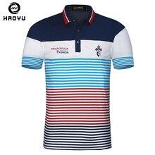 新しい到着コットンメンズポロシャツブランド服半袖で文字ロゴ有名なブランドスリム夏スタイルポロ2018