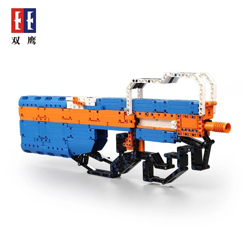 Lepin Pogo Bela SYC81003 Building Blocks of gun Soft bullet Bricks Compatible Military wars weapon soldier Toys gift for kid kazi 228pcs military ship model building blocks kids toys imitation gun weapon equipment technic designer toys for kid