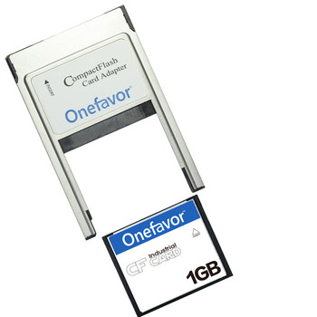 1GB 2GB 4GB 8GB Compact Flash Card Industrial CF Memory card With PCMCIA adapter Type II & Type I JANOME Machines