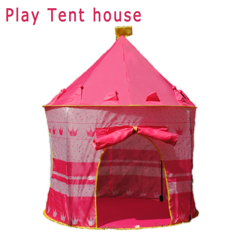 Girls Baby Tent For Kid Tipi Tent Castle Play Tent House Kids Furniture Play Toys Pool Tipi Wigwam For Kids Toys For Children #1