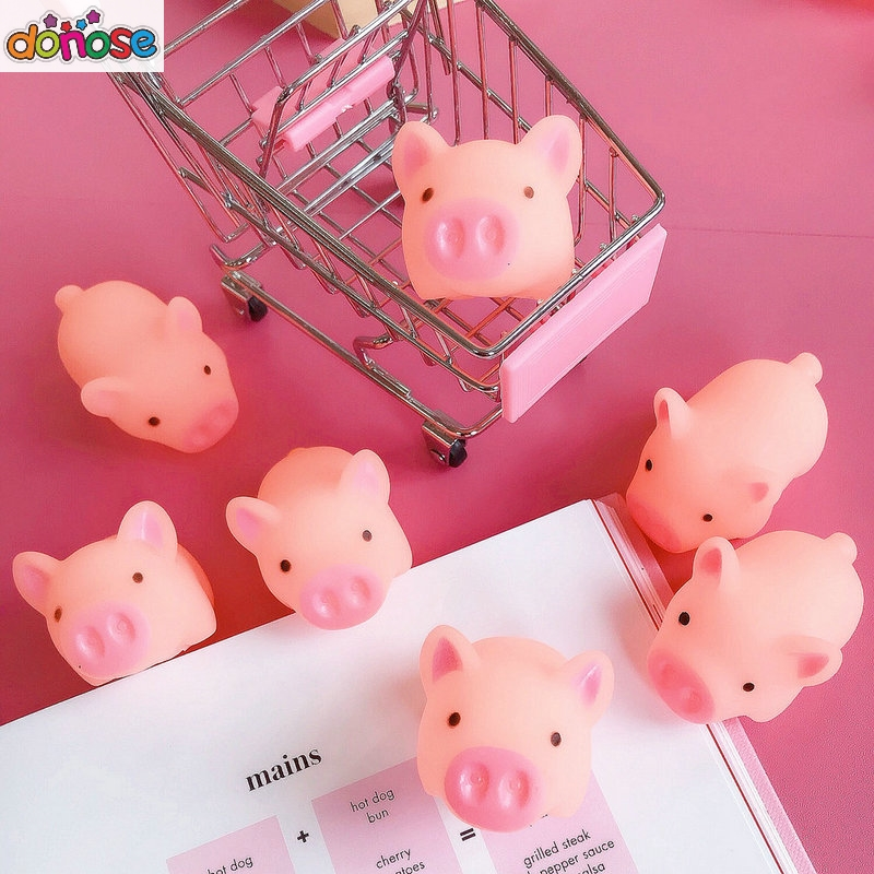 1Pc Funny Cartoon Squishy Pink Pig Sheep Carrot Mochi TPR Squeeze Straps DIY Decor Accessories Fun Joke Toy Gift Antistress Toys1Pc Funny Cartoon Squishy Pink Pig Sheep Carrot Mochi TPR Squeeze Straps DIY Decor Accessories Fun Joke Toy Gift Antistress Toys