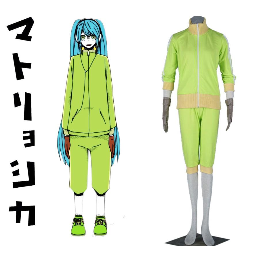Free Shipping Vocaloid Matryoshka doll Hatsune Miku Anime Cosplay Costume