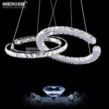 Modern LED Diamond Pendant Lights Fixture Light Crystal Lustres Hanging Drop abajur Lamp luces led decoracion For Bedroom