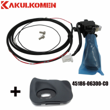 Cruise Control Switch Kit For Toyota Camry (Hybrid) 84632-34011 Switch+Steering Wheel Cover 45186-06300-C0+Wires+Screws