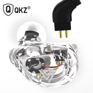 Image 3 - QKZ VK1 écouteurs avec 4DD dans loreille écouteurs fone de ouvidoauriculares audifonos HIFI DJ Monito en cours dexécution Sport écouteurs casque