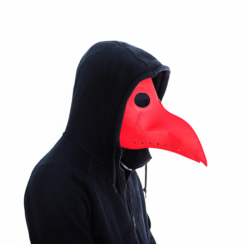 New-plague-doctor-mask-Beak-Doctor-Mask-Long-Nose-Cosplay-Fancy-Mask-Gothic-Retro-Rock-Leather(7)