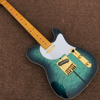 High Quality,TELE Electric Guitar, telecaster one piece maple neck and body,Golden hardware,custom shop,
