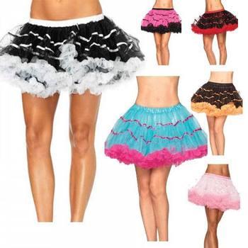 Sexy falda de mujer caliente Sexy Mini falda Tutu falda Mini Peticoat para las mujeres