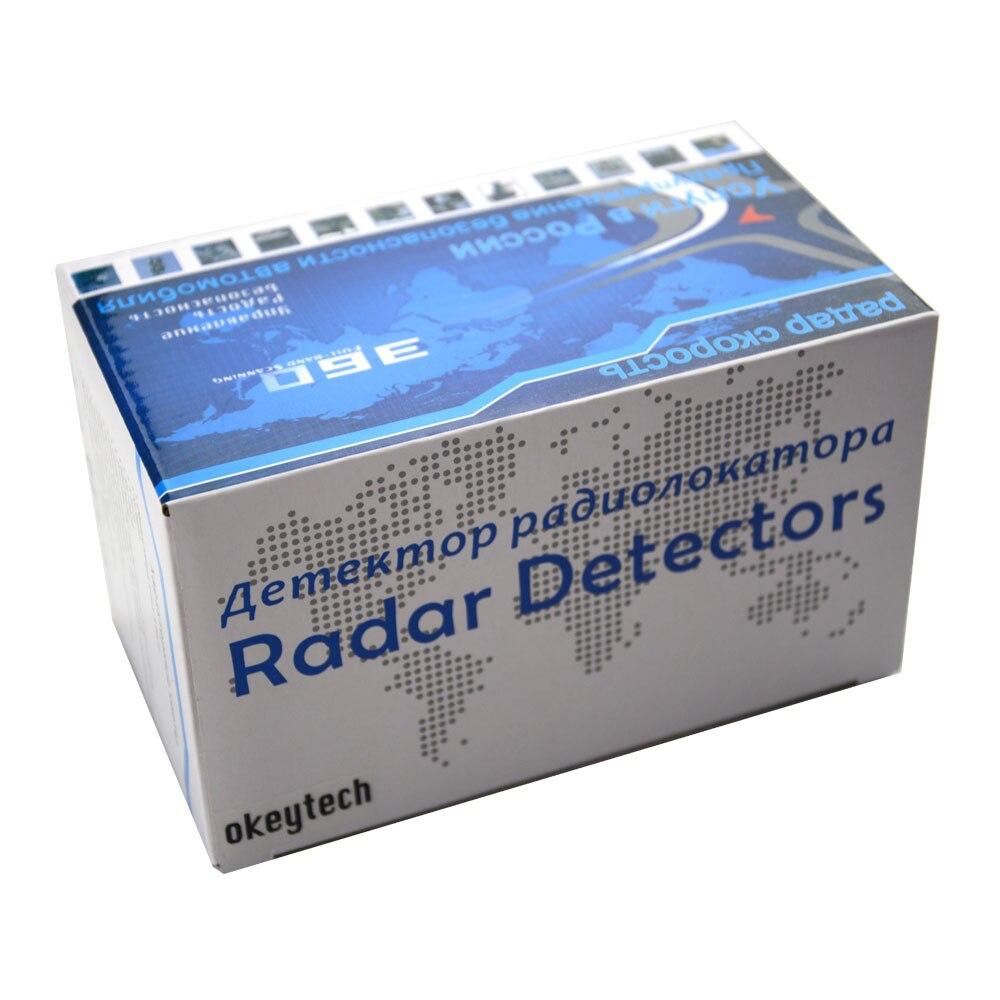 OkeyTech Best V9 Car Radar Detector 16 ապրանքանիշ LED LED - Ավտոմեքենաների էլեկտրոնիկա - Լուսանկար 6
