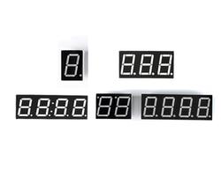 0,36 дюймов Дисплей 3 4 бит светодио дный Дисплей 7-сегментный светодио дный Дисплей общий катод/анод цифровой трубы 0,36 дюйм(ов) светодио дный