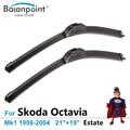 """Escovas para Skoda Octavia Estate Mk1 1998-2004 21 """"+ 19"""", conjunto de 2, melhores limpadores de para a Chuva"""
