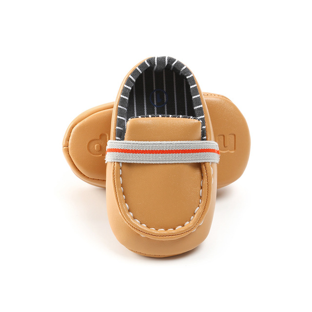 2019 ROMIRUS Brand Gentleman Baby Boys Dress Shoes Soft Bottom Infant Loafers PU Leather Casual Shoes First Walkers