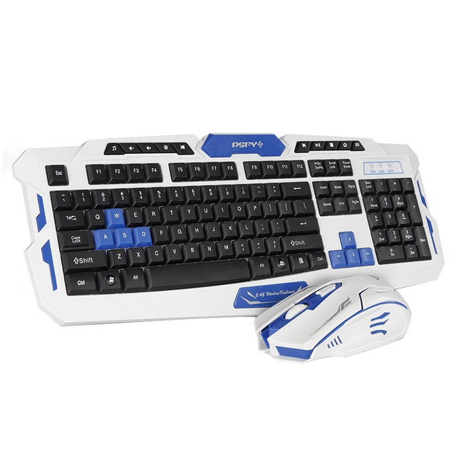 Wireless Gaming Keyboard with Mouse