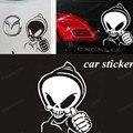 Оптовая Phantom Ghost Rider череп провокаторы Наклейки стайлинга автомобилей этикеты винила наклейка для Автомобилей Аксессуары украшения