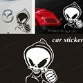 wholesale Phantom Ghost Rider skull provocateurs Car Stickers car styling vinyl decal sticker for Cars Acessories decoration