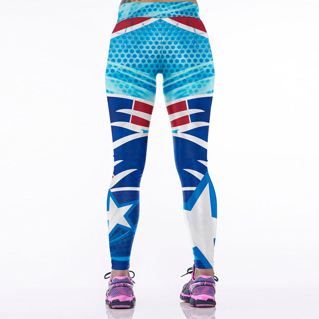 Patriots Team 3D Printed Leggings