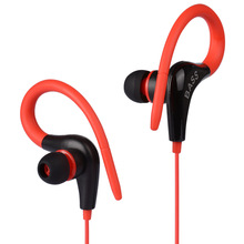 4 Colors PTM S13 Super Bass Sport Earphone Stereo Headphones Ear Hook Running Headset for Mobile Phone iPhone Xiaomi MP3