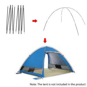 Image 2 - Lixada التخييم 7 مللي متر قوس ل عمود الخيمة الألياف الزجاجية التخييم اكسسوارات أقطاب في الهواء الطلق التخييم معدات الخيام استبدال القطب