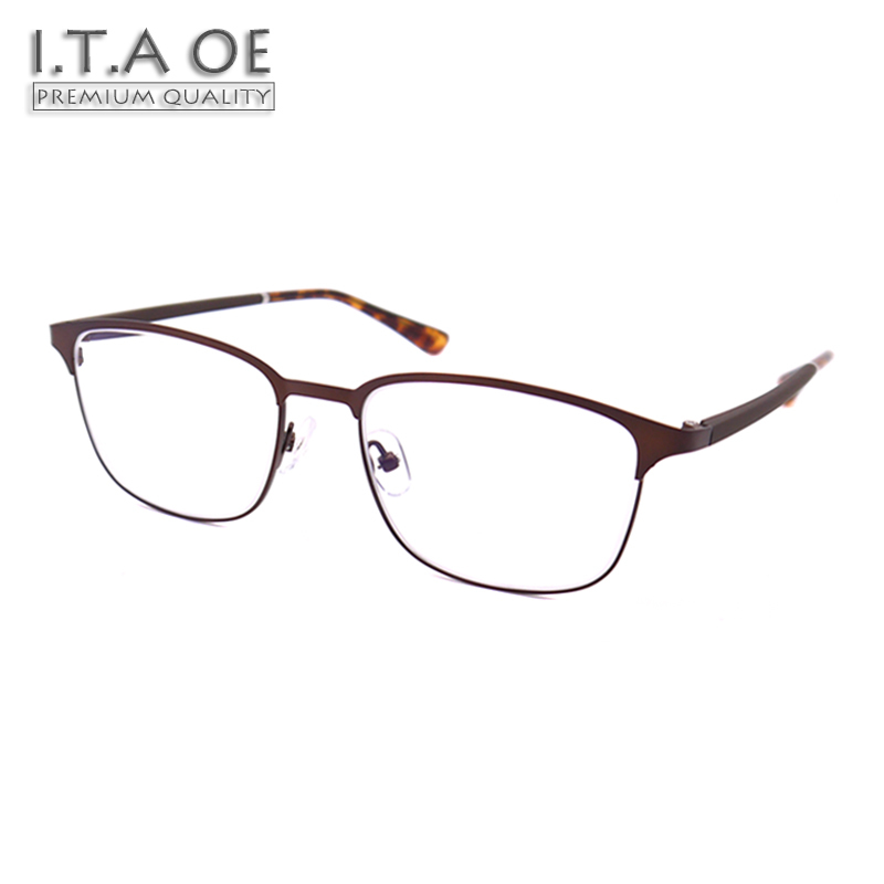 ITAOE Model 9223 Premium Quality Pure Titanium TR90 Men Optical Prescription Glasses Eyewear Frames Spectacles 140mm itaoe model 404 high quality acetate men optical prescription glasses eyewear frames spectacles 141mm