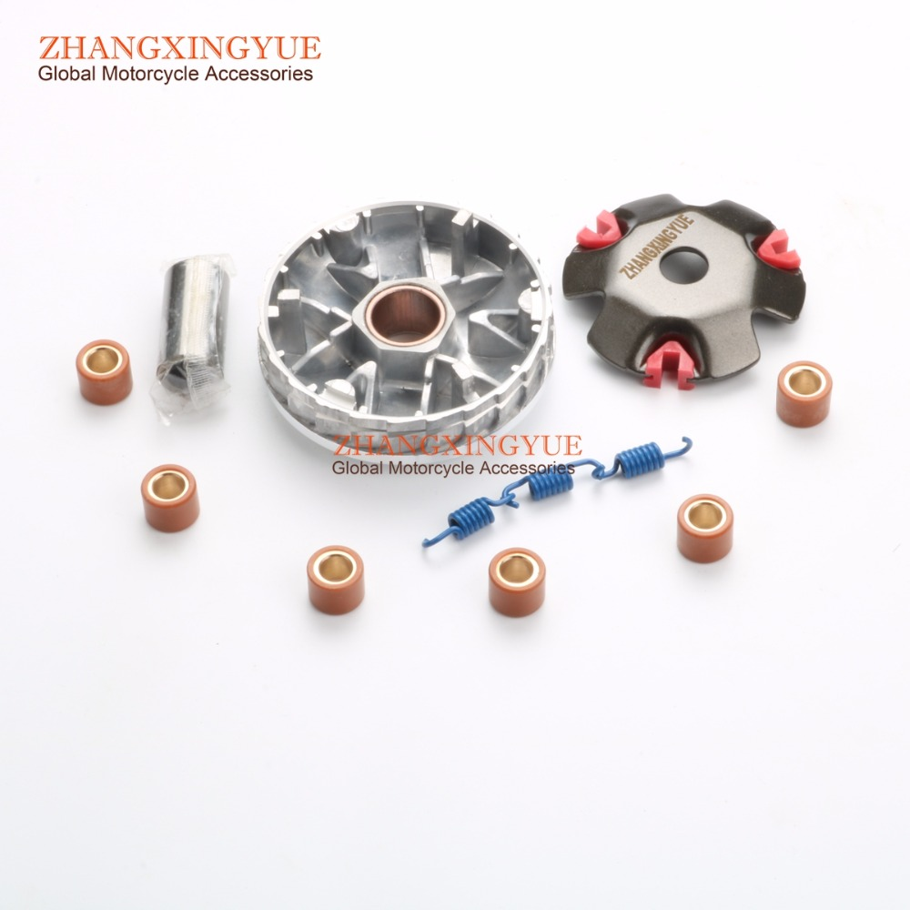 1K 1.5K 2K Chinese Scooter Performance Racing Front Clutch Variator & Clutch spring for GY6 50cc 139QMB