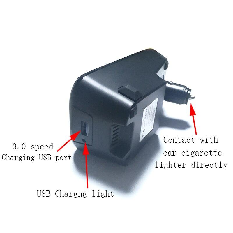 Voiture QI chargeur sans fil pour Volvo XC60 C60 V60 XC90 S90 V90 2018 2019 plaque de charge chargeur de téléphone portable accessoires pour iPhone - 4