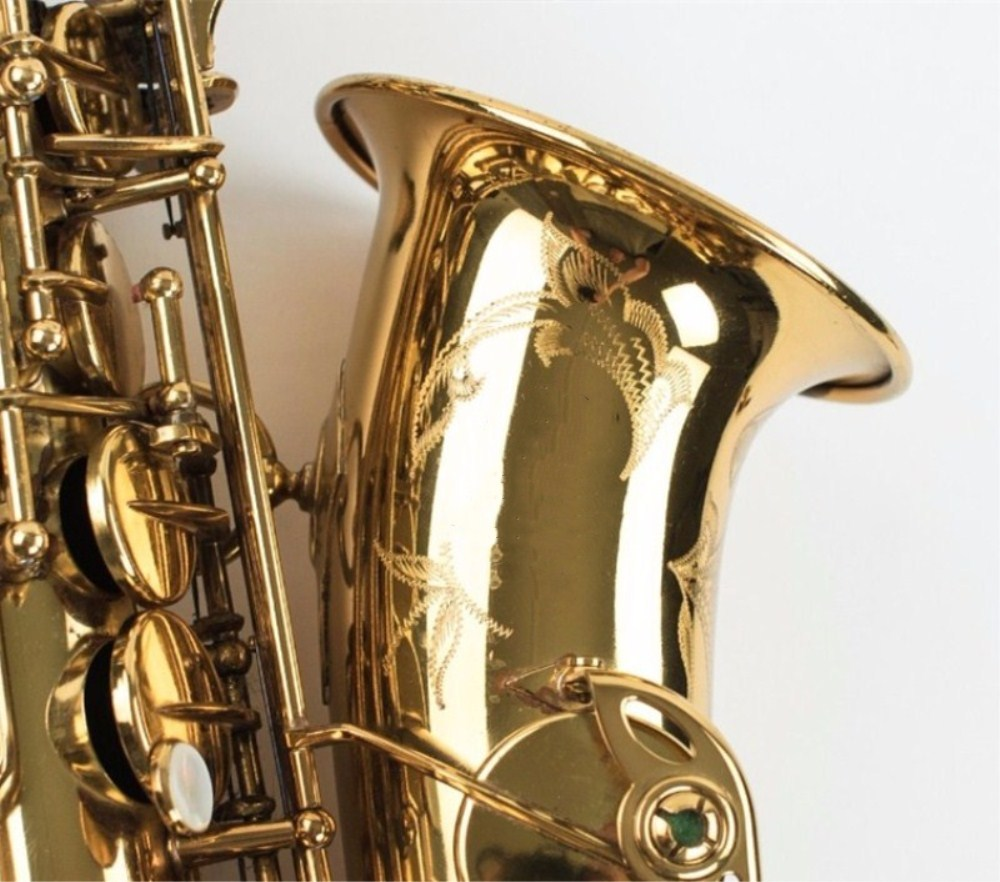 2018 Alto saxophone Mark VI Quality musical instrument New saxophone profissional Reference electrophoresis sax Free free shipping france henri selmer saxophone alto 802 musical instrument alto sax gold curved saxfone mouthpiece electrophoresis
