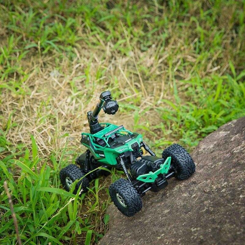Afstandsbediening Auto Rc Mountainbike 1:16 2.4G Met Camera Wifi Mobiele Telefoon Afstandsbediening Vier Drive Waterdicht Klimmen auto - 5