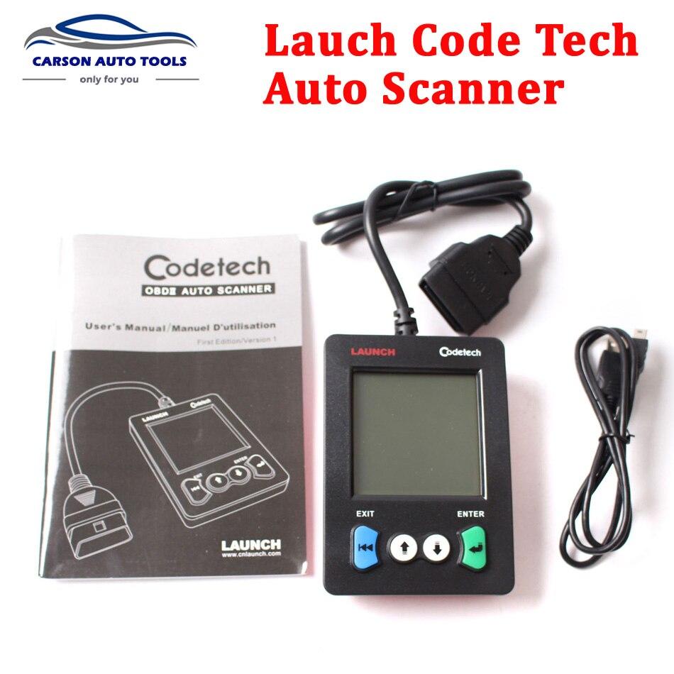 Цена за Оригинальный launch x431 codetech карман код сканер поддержка obdii и определения, creader v обновление онлайн