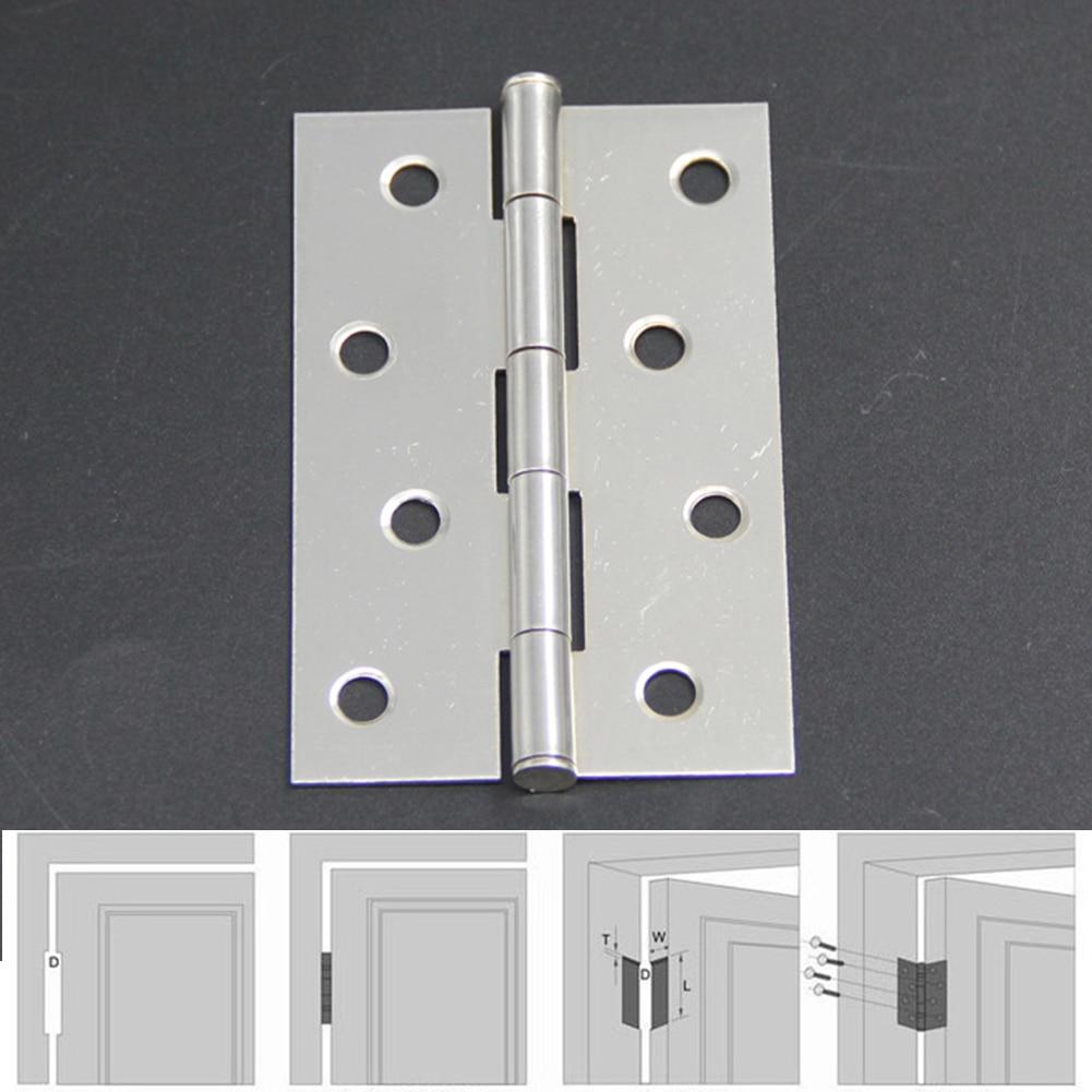 2pcs/set Stainless Steel Hinges For Furniture Flap Hinge Counter Scharnieren Backflap Hinge Bisagra Scharnier 2 3 4 Inch Hinge