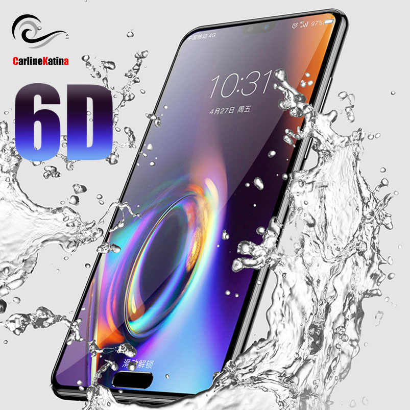 6D For Huawei P20 mate 20 Lite y6 y9 7X 8X Pro nova 3 for Honor 9 Lite 7C Screen Protector Tempered Glass Full Cover Film Case