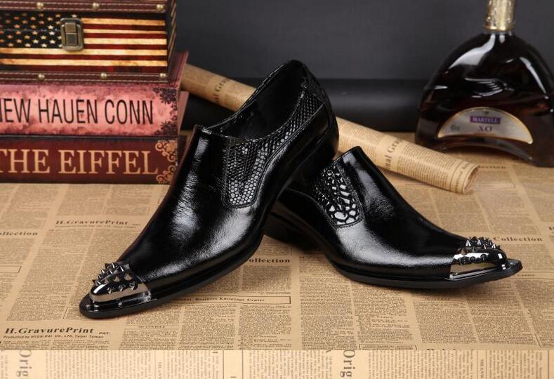 Zapatos Zapatillas Toe Hombres Mocasines Moda Pisos Cuero Mano Hecho Casual Remache Fumar A Metal De Nuevo Estilo 100 Con Oq1YTTwF