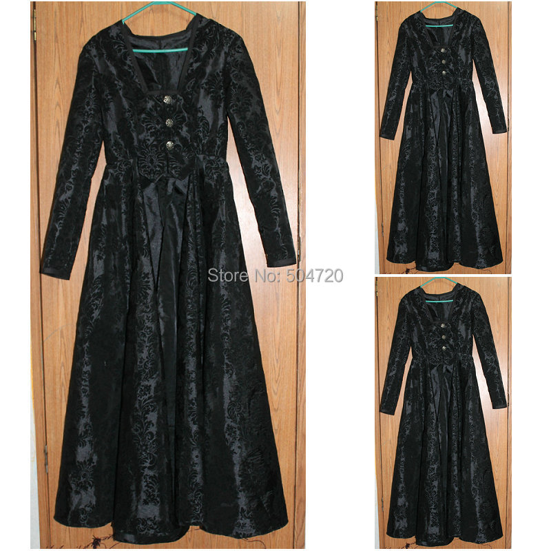 HistoricalR 601 Vintage Costumes 1860s Civil War Southern Belle Ball wedding Dress/Gothic Lolita Dress Victorian dresses