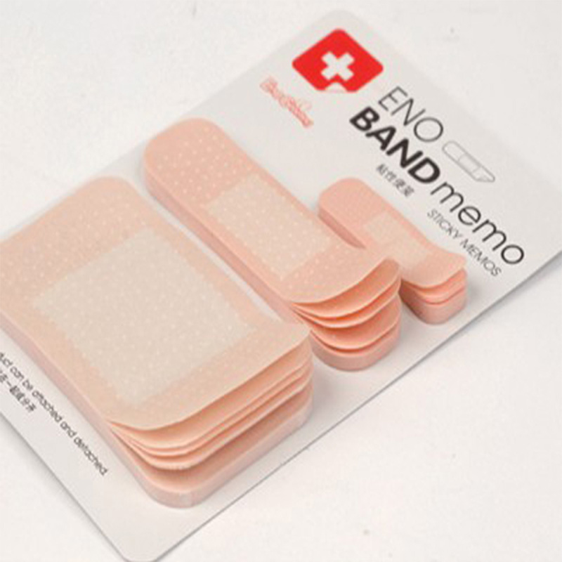 Creative Eno Band Aid Memo Kawaii Sticky Memo Office Home Msg Leave Stationery Self Stick Paper Post It Notepad N Times Sticker