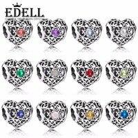 d666e8f2ca0d EDELL 100 925 Sterling Silver Aquarius Stars Zodiac Sign Beads Fit Bangle  791784PE 791784SSA 791784NOP 791784CI