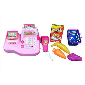 Cash-Register-Toy Classic Kids Pretend Children Educational-Toys Role-Play-Simulation