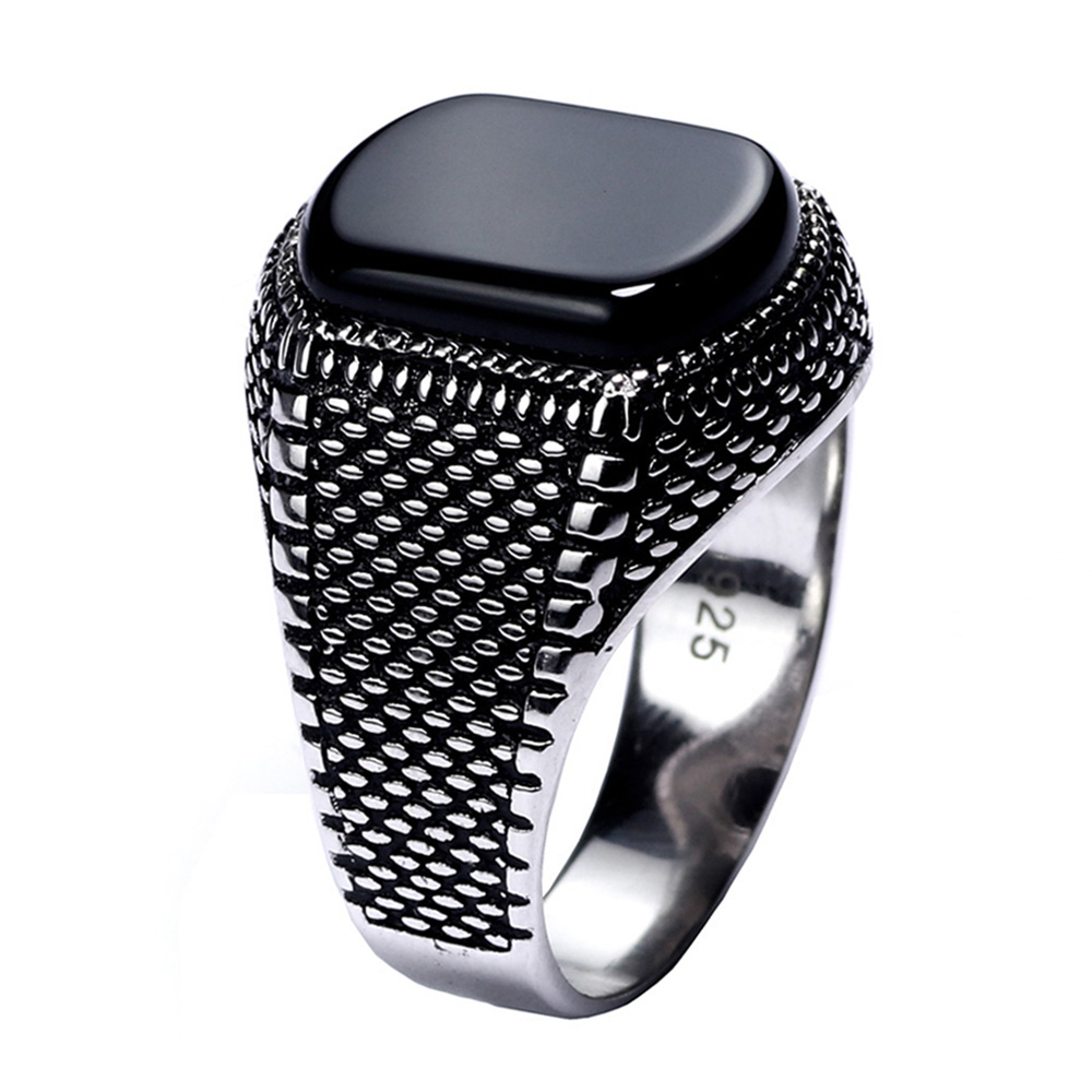 Turkey Jewelry Black Ring…