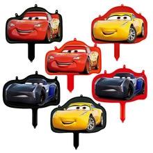 Disney Cartoon Car Theme Aluminium Foil Balloons Party Decoration Rotate Balloon Birthday Supplies