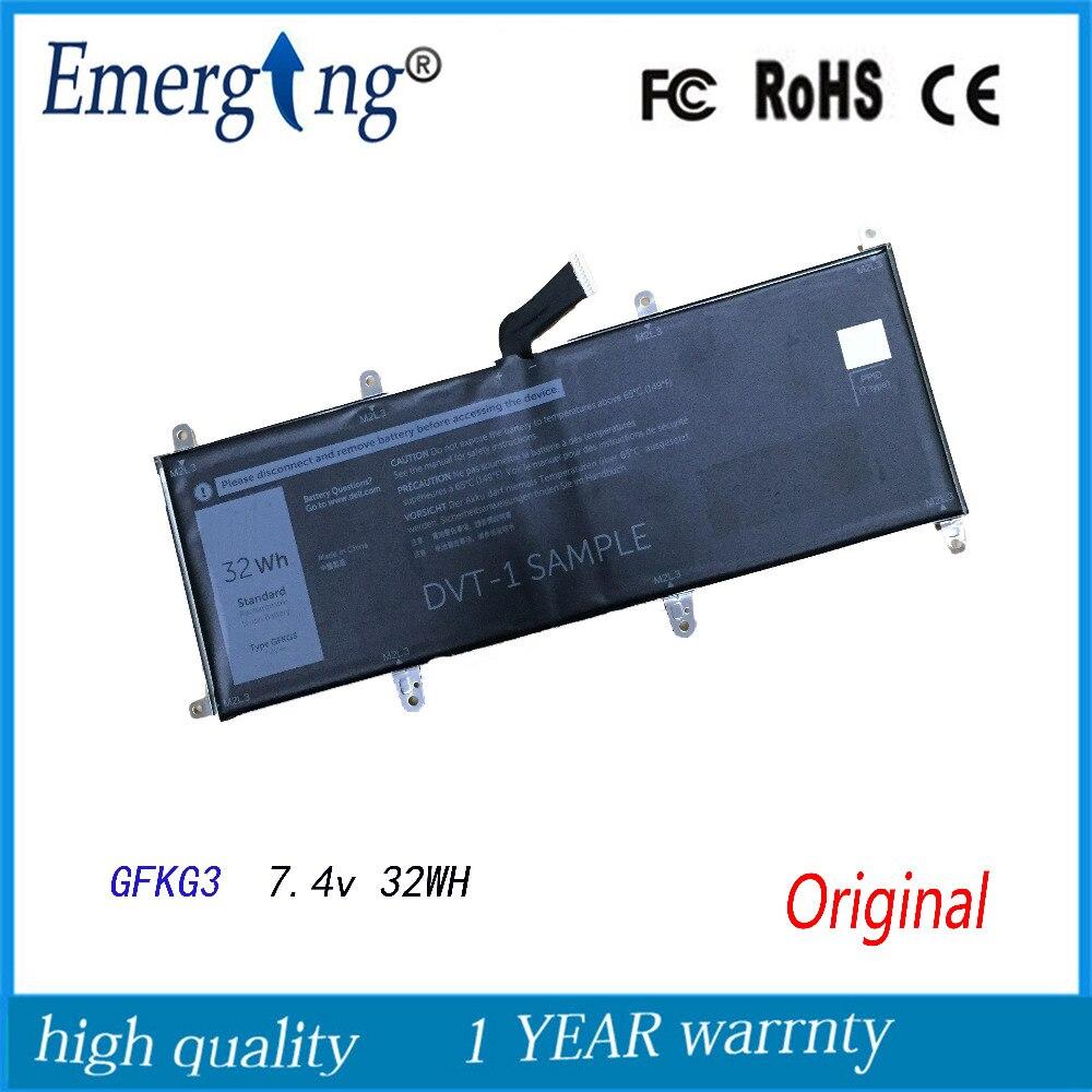7.4 v 32WH Nouveau Original table d'ordinateur portable Batterie pour Dell GFKG3 GFKG3 0VN25R VN25R