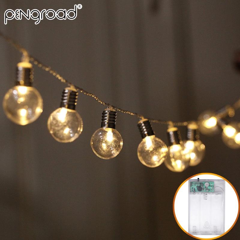 5m 40leds Globe Bulb Led String Lights