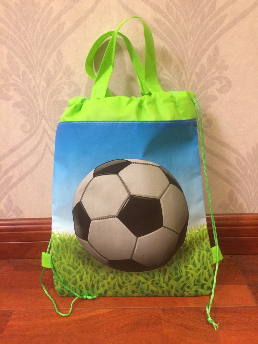 childrens  backpack footballl  Backpack School Bag for runner , waterproof  shoe bag for kids gift birthday gift stuff supplies