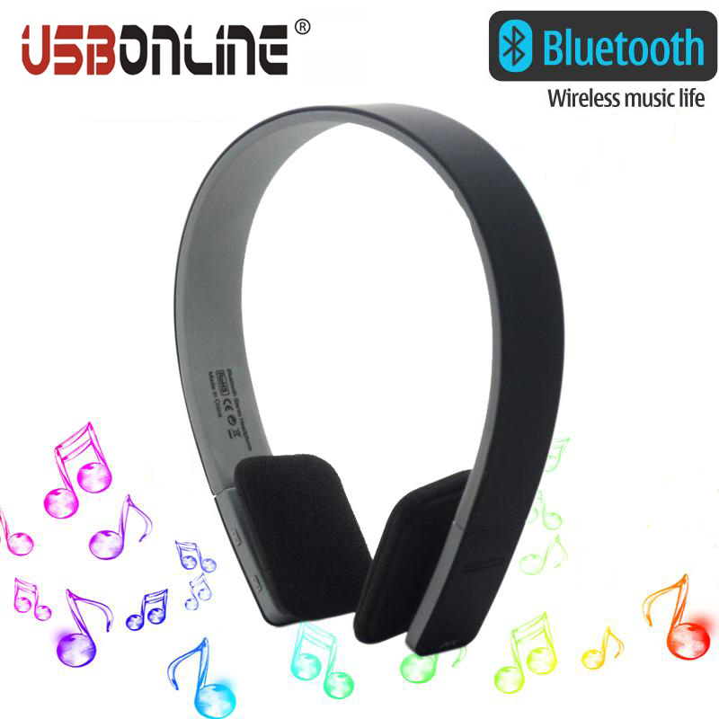 10pcs BQ-618 AEC Headphones Bluetooth Headset Wireless Earphone Handsfree fone de ouvido for all smart Phone Tablet bq 638 car charger bluetooth v4 1 wireless headphones earphone headset for car color black white