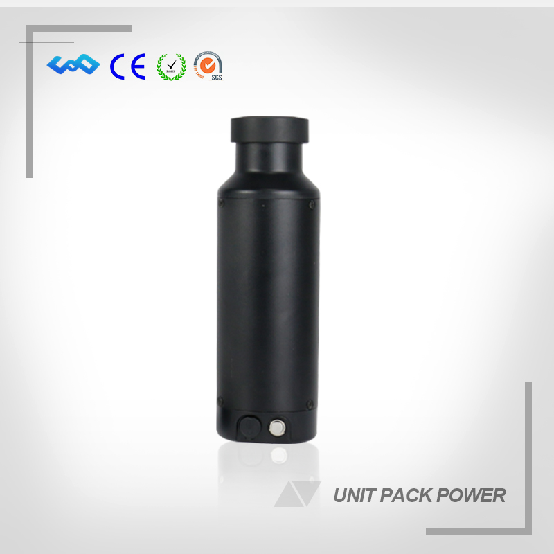 US EU Free Tax New Kettle type 36V 10Ah Electric Bicycle Battery 36V 10.2Ah Li-ion Battery With Charger USB and Bottle Holder