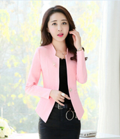 G25368 2018 Spring Autumn New Fashion Women Blazer Casual One Button Small Suit Jacket Ladies Short Coats Tops Trend