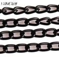 5 м/лот Jet Black Гальваническим Link Кабельное Выводы Цепи для Браслеты Ожерелья Ювелирные Изделия внесении Жесткий Потерять Цвет