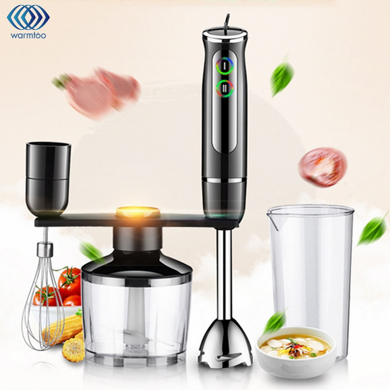 blender food mixer 4 in 1 whisk food set stainless steel electric hand blender chopping whip. Black Bedroom Furniture Sets. Home Design Ideas