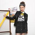 Bombardero de Cuero Verdadero Genuino de piel de Oveja Negro Casual Chaqueta Para Mujer Parkas Abrigos Manteau Femme Básica Abrigos de Pieles 2016 Ucrania Muje