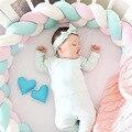 1 5 м длина узел новорожденного ребенка кровать бампер длинная узелковая коса Младенческая комната Декор детской кроватки Детские бамперы