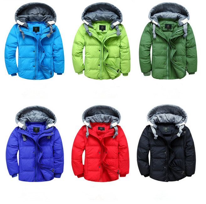 6dcdbc927 YMLBID 2018 New Baby Winter Down Coat Toddler Boys Warm Coat Down ...