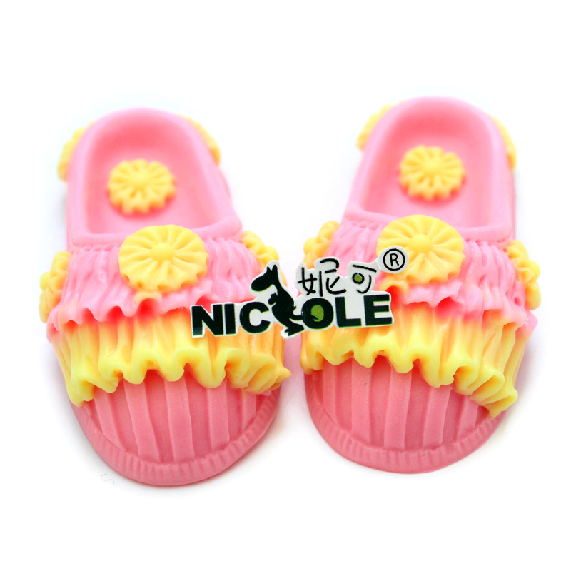 Shoes Silicone Mold for Soap Making DIY Handmade Chocolate Candy Resin Clay Mould in Soap Molds from Home Garden