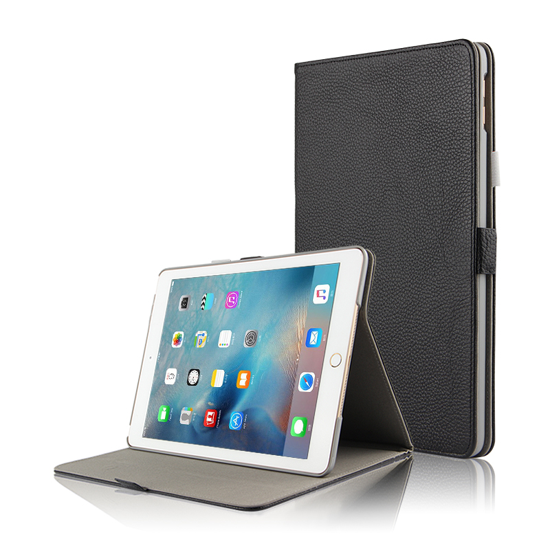 Case Cowhide For iPad 9.7 (New 2018) Cover Case Smart Genuine Leather Tablet for Apple iPad 9.7inch A1893 A1954 Protector Sleeve for new ipad 9 7 inch 2018 a1954 a1893 pu leather sleeve slim cover pouch bag sleeve bag case for ipad air 1 2 9 7 2017 tablet